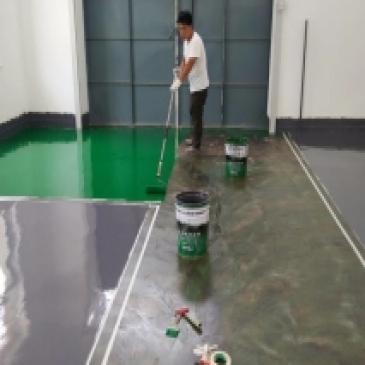 环氧地坪施工
